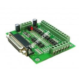 Плата коммутационная (контроллер) 6 осей BB6001 (основной вид)