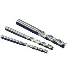 Фрезы концевые трехзаходные для 2D и 2.5D фрезерования D3.175мм