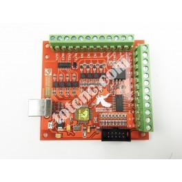 Плата коммутационная (USB контроллер) 4 оси 100кГц