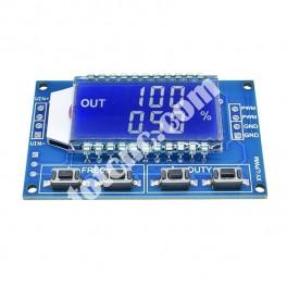 Генератор ШИМ сигналов с LCD экраном для шаговых двигателей Module M08