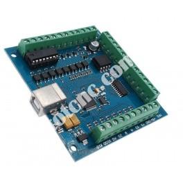 Плата коммутационная (USB контроллер) 4 оси 100кГц BB4002