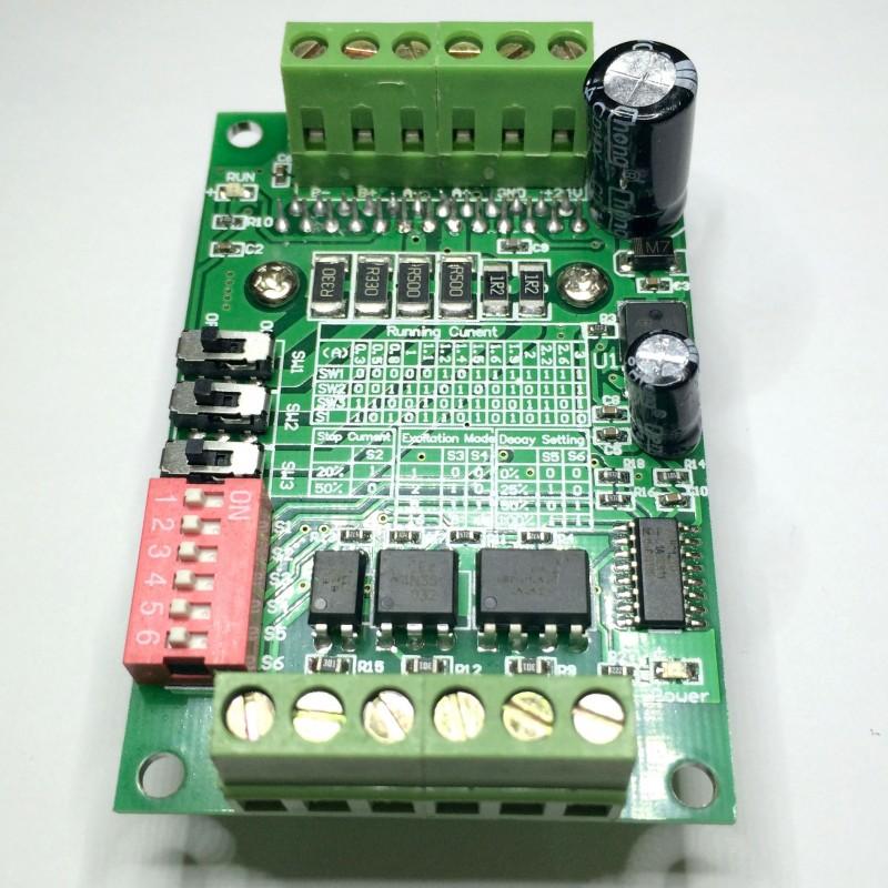 Драйвер шагового двигателя BL-TB5660-V2.0 SG042-SZ+ вид справа