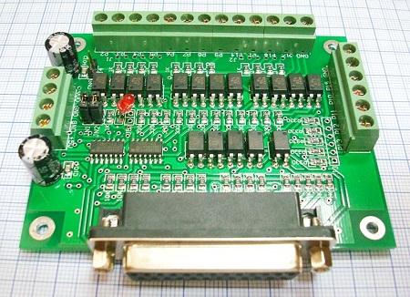 Интерфейсная плата (контроллер) DB25 6-ть осей