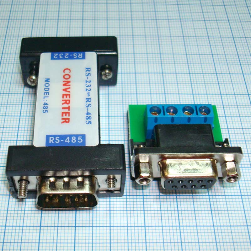 Конвертер AP-LINK RS232 - RS485 (DB9) COM порт вид сверху