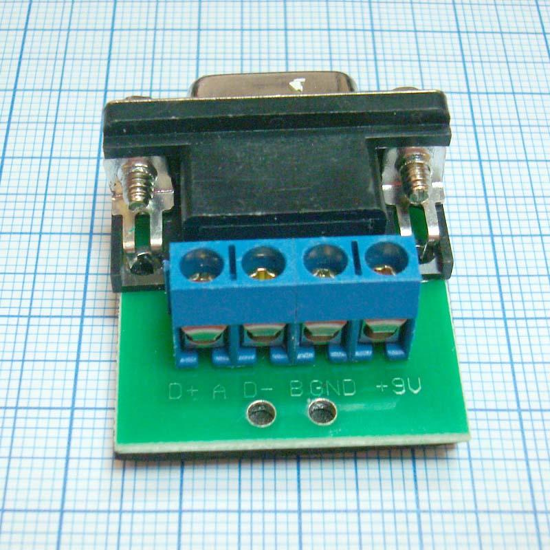 Конвертер AP-LINK RS232 - RS485 (DB9) COM порт ответная часть